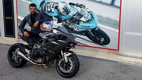Kenan Sofuoğlu и Kawasaki H2R