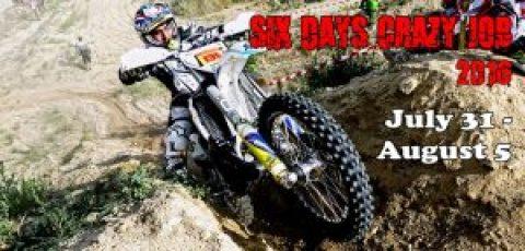 Six Days Crazy Job 2016 разтърсва Стара планина от неделя