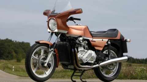 Тайният мотоциклет на Audi