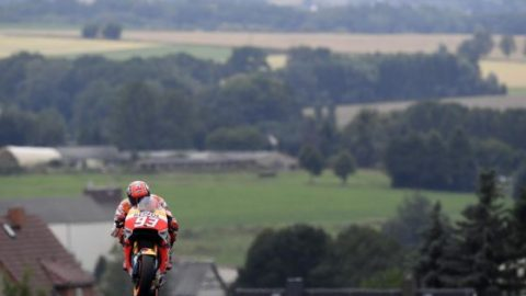 MotoGP: Маркес тръгва пръв в Германия