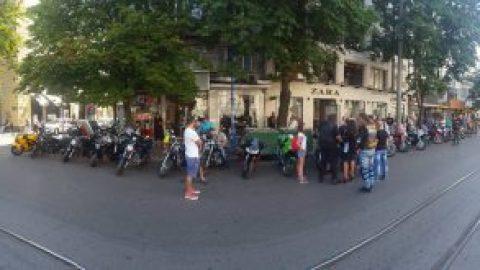 Над 100 мотора пред Съдебна палата заради убийството на семейство Бойкови край Драгоман