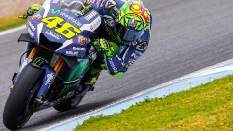 MotoGP: Валентино Роси стартира първи в Гран При на Испания