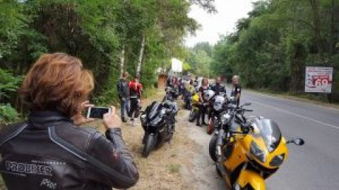 Днешният SR-Newbie Ride-2016 през погледа на една от най-редовните дами