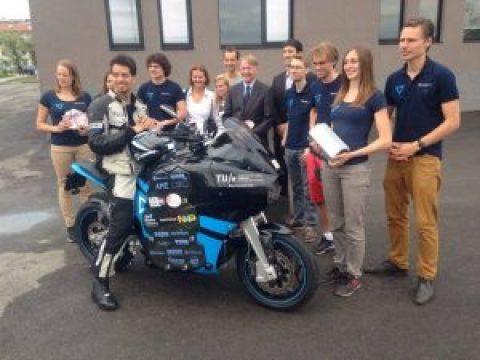 Storm Wave – Първият електрически туристически мотоциклет бе представен в София