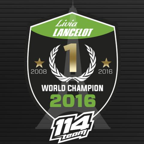 Мотокрос: Чаровната Ливия Ланселот с втора световна титла при жените