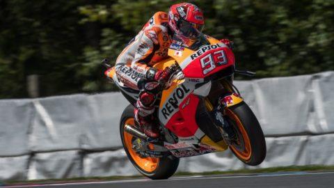 MotoGP: Маркес печели пол-позишън с рекорд в Бърно