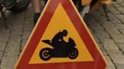 """""""Внимание! Мотоциклетисти"""" ще бъде предупредителен знак"""