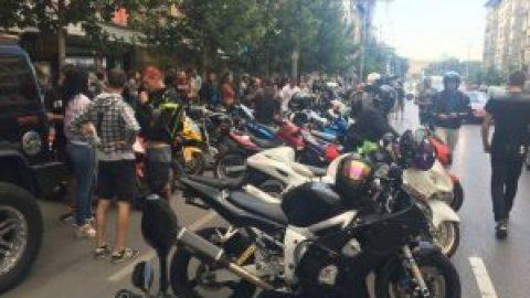 Протестът на мотористите продължава и днес