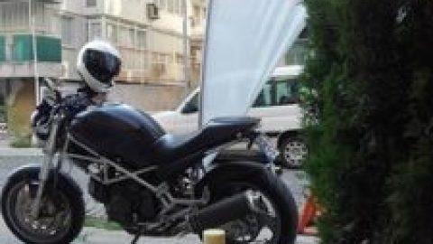 Протест на мотористите пред Турското посолство (Sofia Riders галерия)