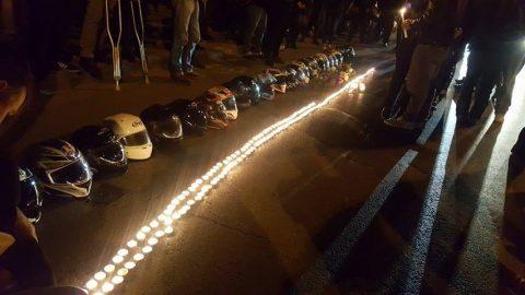 Десетки мотористи почетоха паметта на Боби, убит от таксиметров шофьор