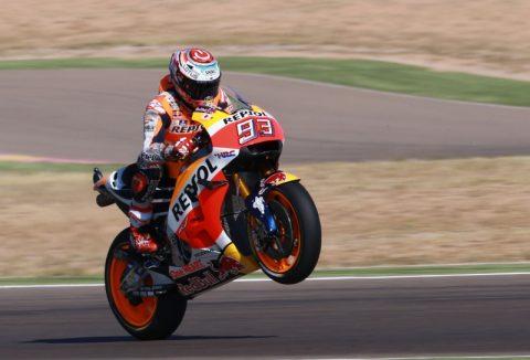 MotoGP: Марк Маркес недостижим на квалификацията за Гран при на Арагон