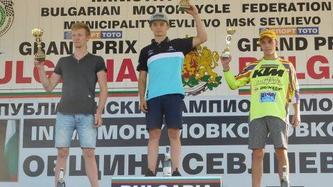 Мотокрос: Гран при на Севлиево през погледа на абсолютния победител в класовете МХ1 и МХ2 Майкъл Иванов