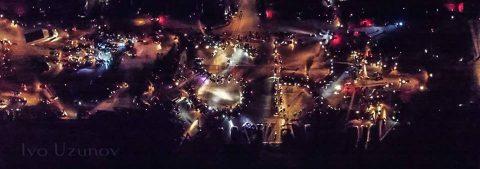 Хиляди мотори се включиха в Масовото нощно каране 2, организирано от Sofia Riders