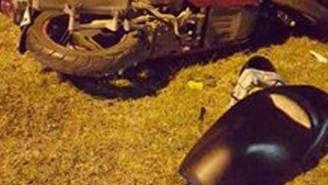 Автомобил блъска моторист в София, Sofia Riders пак  на място