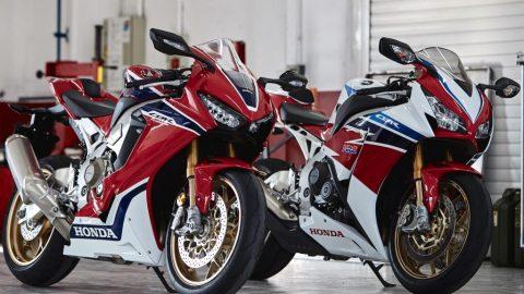 2017 Honda CBR 1000 Fireblade SP и SP2 на Intermot 2016 (видео)