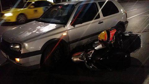 Live в Riders.Live: Моторист със скутер е блъснат при непозволен обратен завой в София