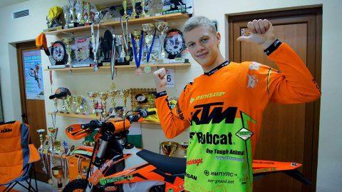 Ендуро: Теодор Кабакчиев готов за първия старт за 2017