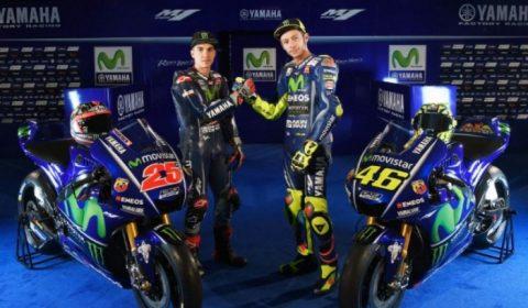 MotoGP: Yamaha първи представиха пилотите и мотоциклета си за сезон 2017