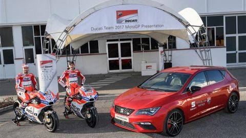 Испанският автомобилен производител SEAT ще спонсорира тима на Ducati в MotoGP