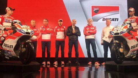 MotoGP: Ducati представи новото Desmosedici на Лоренцо и Довициозо за 2017