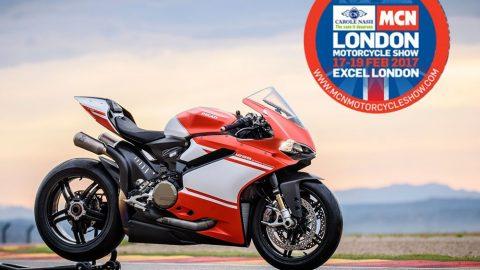 Live в Riders.Live: Ducati 1299 Superleggera на мотоциклетното изложение в Лондон