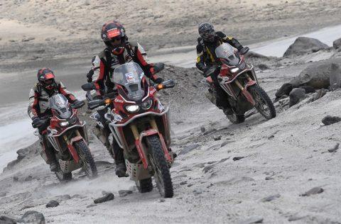 Honda CRF1000L Africa Twin  счупи рекорда за достигане на най-голяма височина с мотоциклет