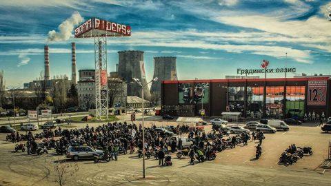 Сборен пункт на Sofia Riders за откриването на Мото-сезон 2017 е ВИП-паркинга на Ring Mall