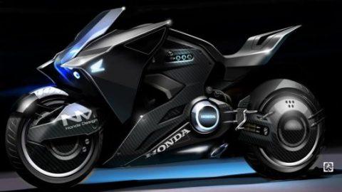 Honda с уникален мотоциклет за новия филм на Скарлет Йохансон