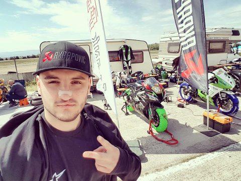 SR-news: Успешен старт за Христиан Христов в Балканския шампионат по мотоциклетизъм на писта