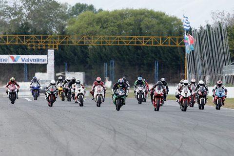 Силна конкуренция и зрелищни състезания в първия кръг от Балканския шампионат по мотоциклетизъм на писта