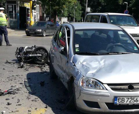 Жена отне предимство и уби моторист в София