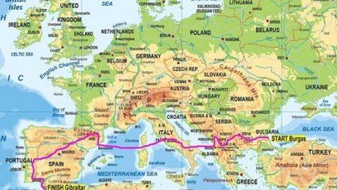 Впечатляващият мототур Черно море – Гибралтар тръгва от Бургас