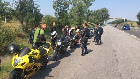 В духа на Sofia Riders: Над 20 мотора се включиха във втория Newbie Ride за 2017