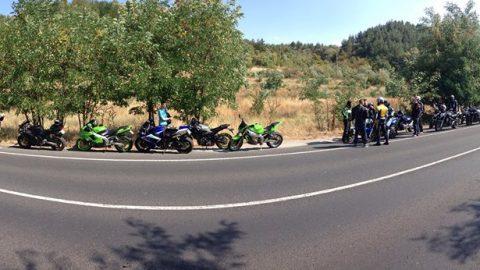 SR-Newbie Ride 2017: Близо 25 мотоциклетисти си спретнаха приятен трип до Рилския манастир
