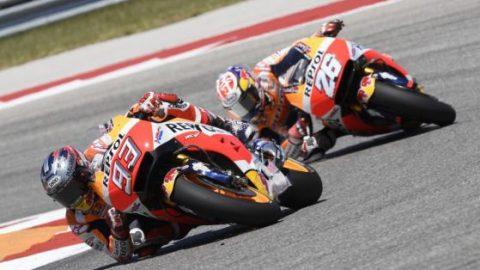 """MotoGP: Маркес тръгва първи днес след рекорд на """"Силвърстоун"""""""