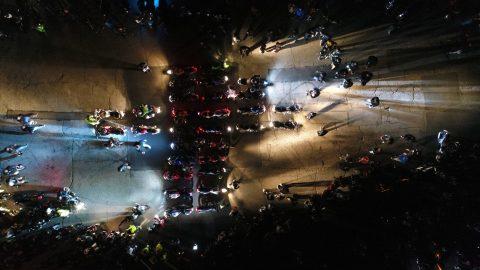 """Sofia Riders отправиха ясно послание с поредното """"Масово нощно каране"""" в столицата"""