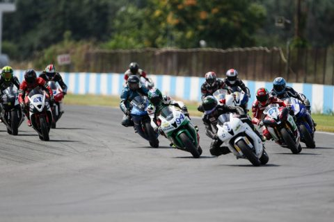 Крайно класиране BMU European Road Racing Championship 2017