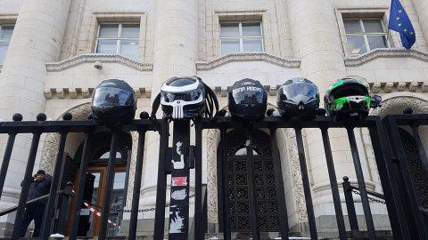 Над 40 мотористи отново подкрепиха близките на загиналия им колега Боян Митев