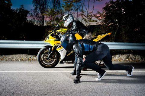 Млада полицайка спечели първия конкурс на Sofia Riders за най-добра снимка до логото на групата