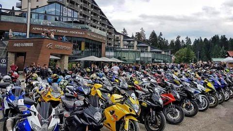 Над 150 мотоциклета Suzuki се събраха в Боровец за Първата национална GSX-R среща