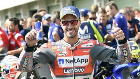 MotoGP: Андреа Довициозо с Ducati стартира от пол-позишън в Бърно