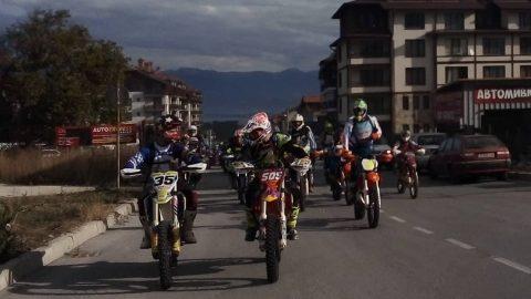 Близо 200 мотора разсъниха Банско преди старта на Three Mountains Hard Enduro 2018