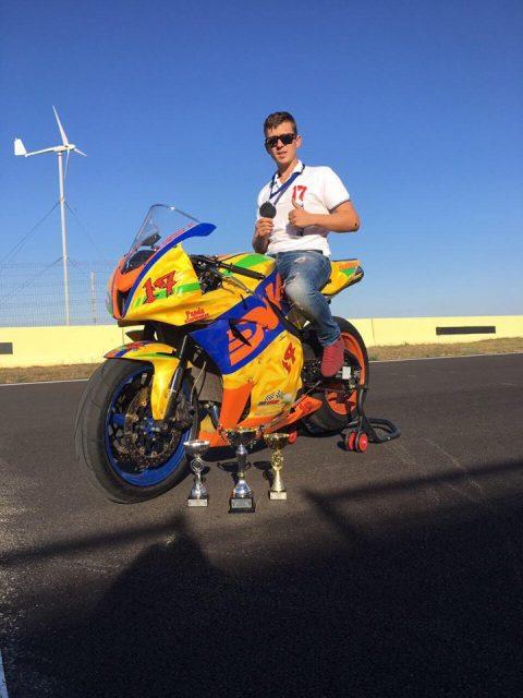 Бургазлията Янислав Димитров с първа вицешампионска титла на Източна Европа по мотоциклетизъм