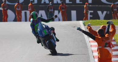 Кралска раздяла на Енеа Басианини с Moto2