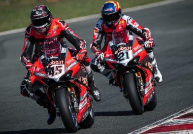 WorldSBK: Заводски мотори Ducati доминират в първия тест на пистата в Навара